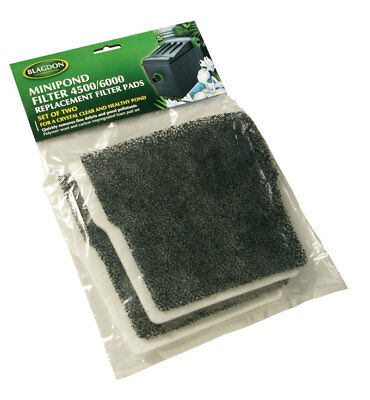 Blagdon Minipond Filter Media 2set - for 4500 or 6000 Filters. Wool and Carbon
