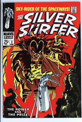 Silver Surfer #3 Vol 1 Near Perfect High Grade 1st Appearance of Mephisto