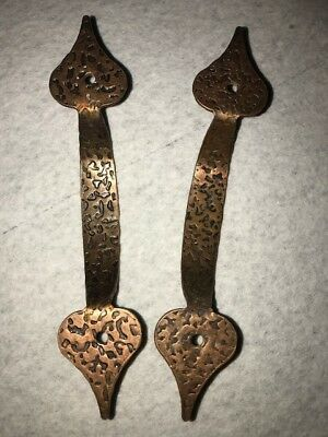 21 Pk Pieces Colonial Antique Copper Cabinet Door Drawer Handle Pull LOT