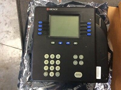 KRONOS System 4500 Digital Time Clock Scanner Reader Numeric Input Bare Chassis