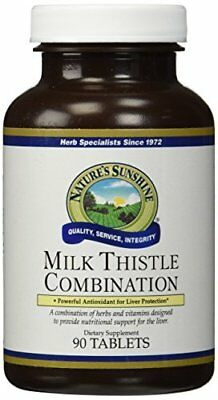 NATURE'S SUNSHINE Milk Thistle Combo Tablets, 90 Count
