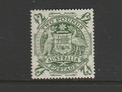 """1948 *arms* £2 Green Mint Unhinged Post Office Fresh """"scarce"""""""