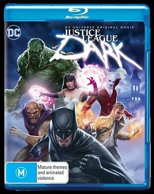 Justice League - Dark (Blu-ray, 2017) New, ExRetail Stock (D138)