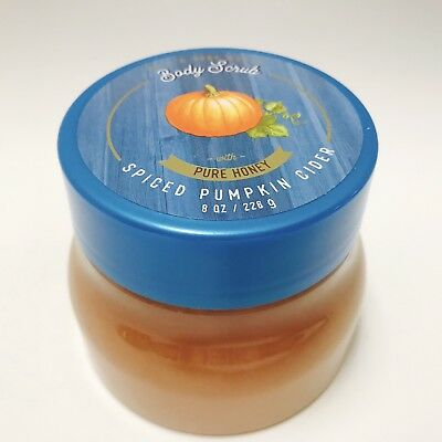 1 Bath & Body Works Spiced Pumpkin Cider With Pure Honey Body Scrub 8 oz 226g