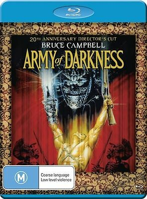 Army Of Darkness (Blu-ray, 2013) New, ExRetail Stock (D140)