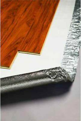 1mm Silver Foil Underlay Laminate Floating Timber Floor 2 in 1 Moisture Barrier