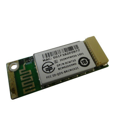 New Dell Laptop Truemobile 355 Bluetooth 2.0 Wireless Card Module CW725 RJ421
