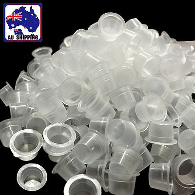 250pcs Tattoo Pigment Ink Cup Disposable Transparent Plastic JTAC11900x250