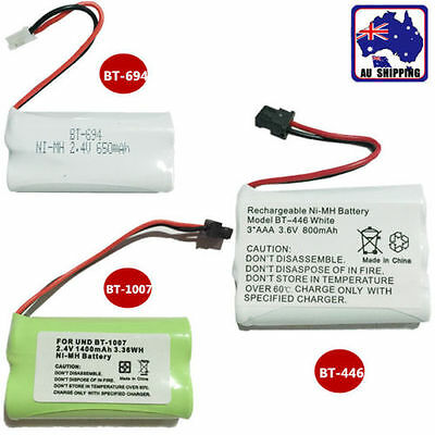 Cordless Phone Battery Uniden 3.6V BT-446 2.4V BT-694 BT-1007 Ni-MH EYBA10