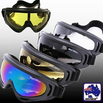 Eyewear Goggles Glasses Windproof Snowmobile Ski Motorcycle Protection JGLAS 10