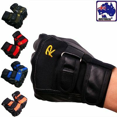Unisex PU Outdoor Gloves Anti-Slip Fingerless Driving Motorcycle Biker CGLOV 38
