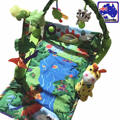 Baby Forest Soft Space Toy Play Mat Fancy Activity Motion Gym Carpet BCUS43804