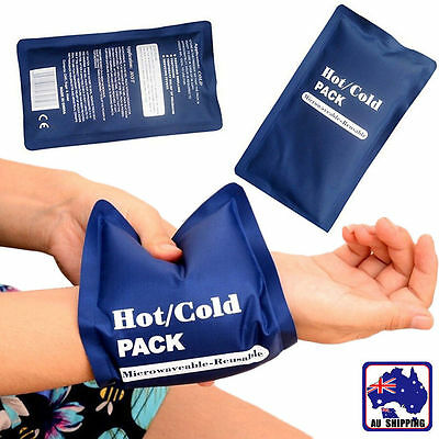 Reusable Hot & Cold Microwaveable Heat Ice Gel Pack First Aid Bags SGBA11106