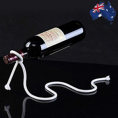 Wine Bottle Lasso Rope Holder Floating Illusion Rack Stand Art Magic HWIHA7405