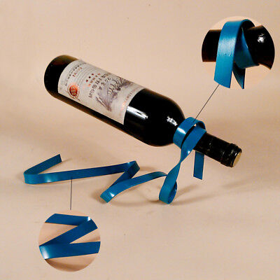 1Pc Suspended Ribbon Wine Rack Hot Suspension Stand Novelty Iron Bottle Holder