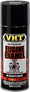 VHT High Temperature Engine Enamel Spray Paint Gloss Black SP124