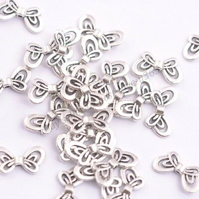 FREE SHIP 20Pcs Tibet Silver Gold Bronze Nice angel wing Spacer Bead 17X9MM B123