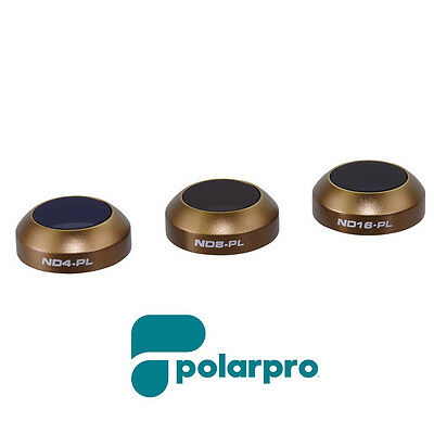 GENUINE Polar Pro Mavic Cinema Series Vivid Collection 3-pack Filters Free Deliv
