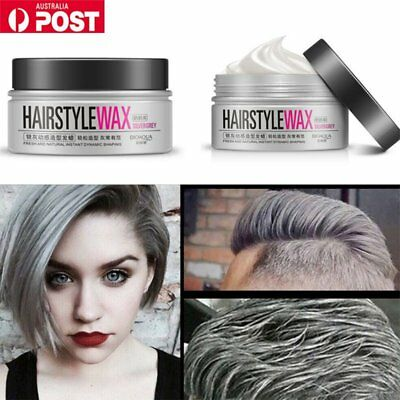 Unisex DIY Hair Color Wax Korean Japanese Trending Style Grandma Grandpa AU