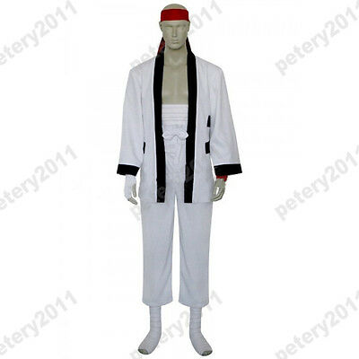 Rurouni Kenshin Sanosuke Sagara Cosplay Costume Custom-made