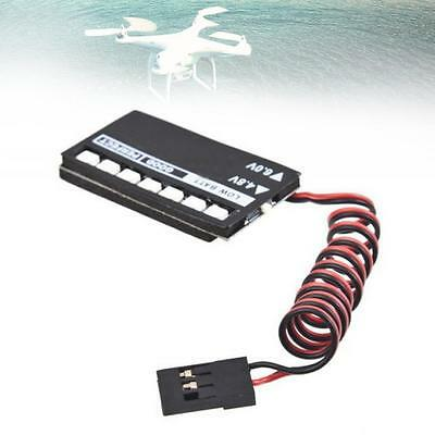 Receiver Battery Low Voltage Indicator Monitor Tester For RC Helicopter 7 LED MM