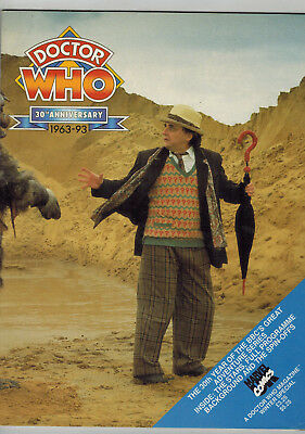 DOCTOR WHO MAGAZINE 30th Anniversary Special
