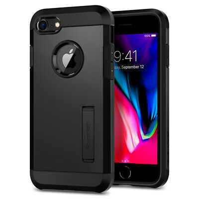 iPhone 8 / 7 I Spigen®  [Tough Armor 2nd Gen] Dual Layered Protective Case Cover