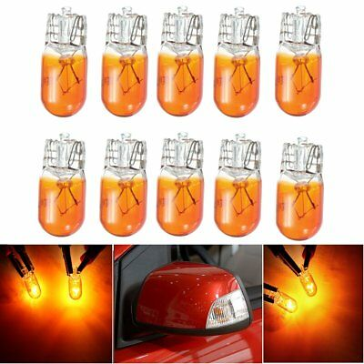 10x T10 W5W 5W Bulb Halogen Indicator Turn Signal Light Lamp 12V For Ford Focus