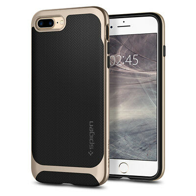 For iPhone 8 Plus / 7 Plus Spigen® [Neo Hybrid Herringbone] Bumper Case Cover