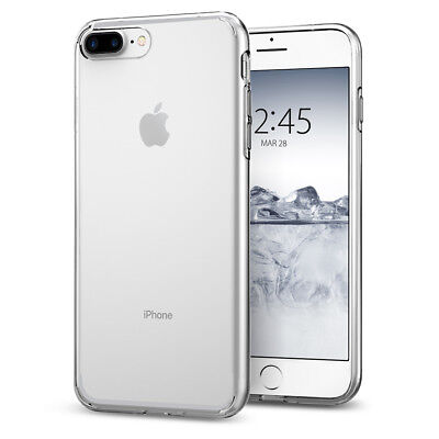 iPhone 8 Plus / 7 Plus Spigen® [Liquid Crystal] Clear TPU Protective Case Cover