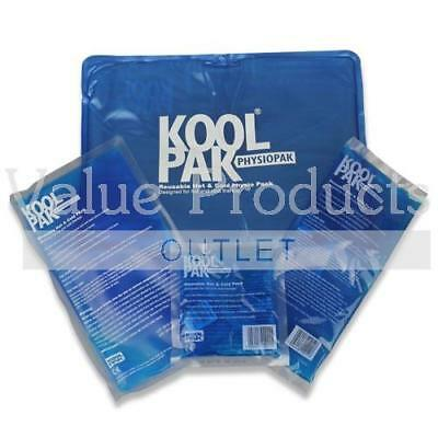 Koolpak Reusable Hot Cold Ice Gel Packs - First Aid Heat Pain Relief