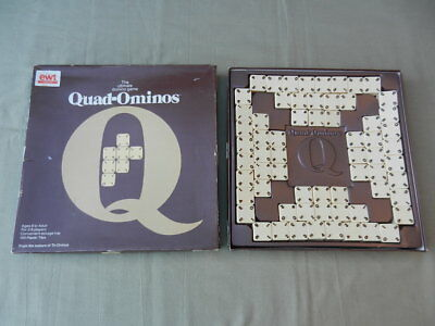 QUAD-OMINOS Vintage BOARD GAME