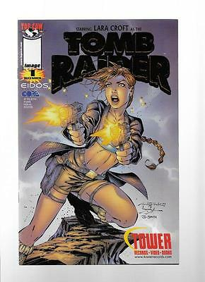 Tomb Raider #1 & # 2  Tower Records Gold Foil Variant.