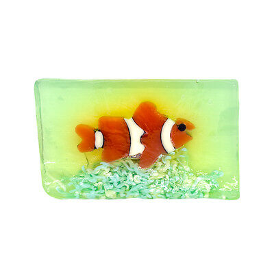 Under the Sea Fish Novelty Decorative Soap Kids - Pear Fruit Scent