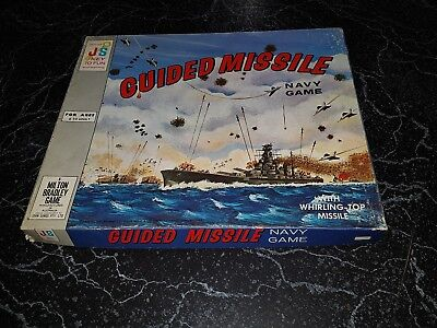 GUIDED MISSILE navy Game VINTAGE  John Sands/MB