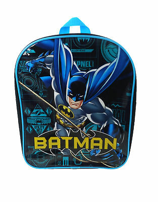 DC Comics Batman Blueprint PV Backpack Black & Blue Rucksack School Bag