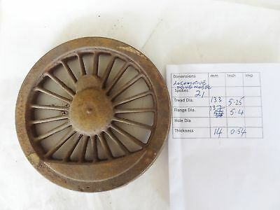 602N Semi finished Large Live Steam Locomotive Drive Wheel Casting 18 Spoke