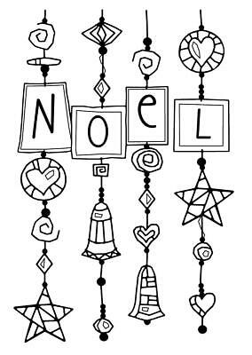 Woodware Clear Magic Singles Stamp - Noel Dangles FRS662