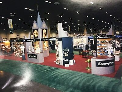 20x70 Nimlok Custom Trade Show Exhibit Booth Display + Includes Crate and Lights