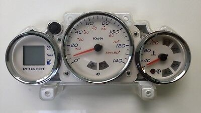 PEUGEOT ELYSTAR 125cc ISU2 Scooter Instrument Assembly / Speedometer