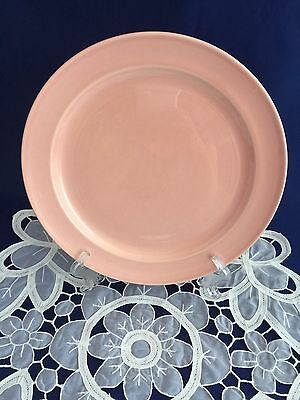 Vintage LuRay Taylor Smith & Taylor Pastels Pink Luncheon Plate