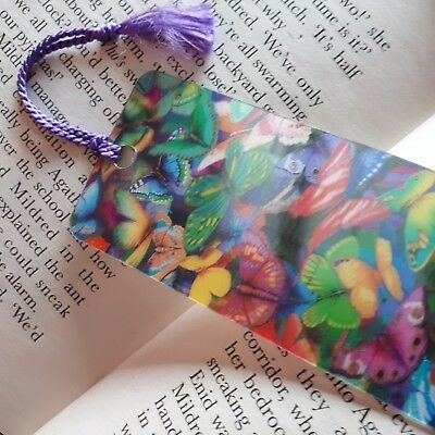 3D BUTTERFLY BOOKMARK stocking filler, party bag, secret santa gift