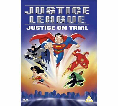 JUSTICE LEAGUE: JUSTICE ON TRIAL DVD (DC Comics)