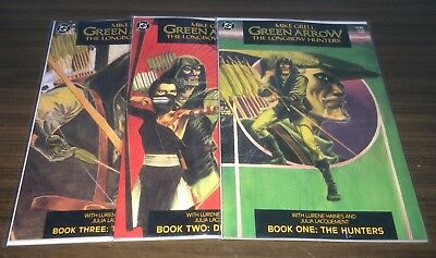 GREEN ARROW The Longbow Hunters -- #1 2 3 -- FULL Series -- Mike Grell