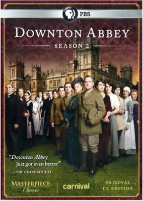 New - Factory Sealed - Downton Abbey: Season 2 (DVD, 2012, 3-Disc Set)