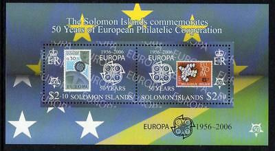 Solomon Islands MNH 2005 The 50th Anniversary (2006) of the First EUROPA Stamps