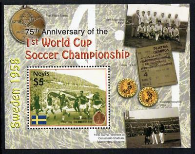 Nevis MNH 2005 The 75th Anniversary of First Football World Cup M/S