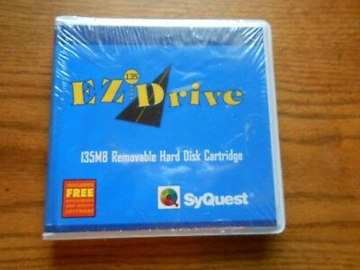 SyQuest EZ-Drive 135MB Removable Hard Disk Cartridge
