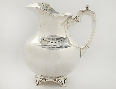 STERLING SIVER WATER PITCHER Lot 124