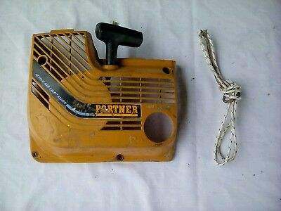 Partner K650 pull start assy with a spare rope